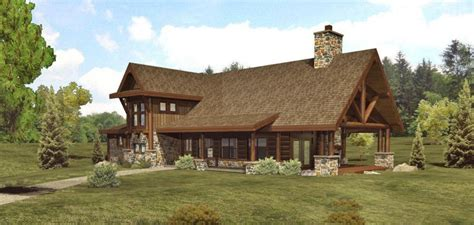 aspen ii log homes cabins and log home floor plans