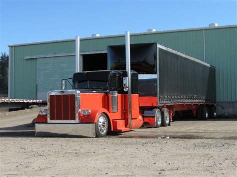 custom semi trucks on pinterest peterbilt peterbilt 379