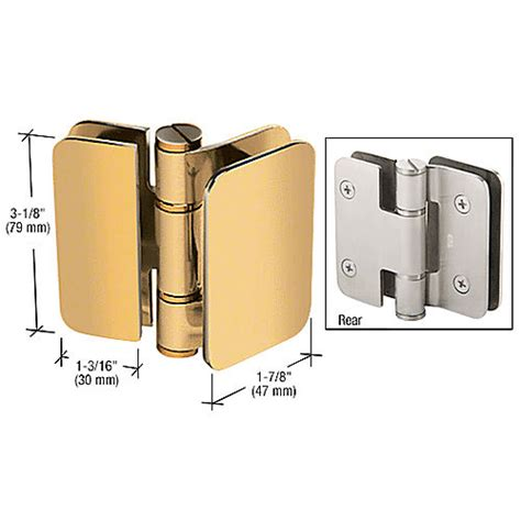 Inswing Shower Door Crl Zur02gp Zurich 02 180 Degrees Glass To Glass Inswing Or Outswing Bi Fold Hinge