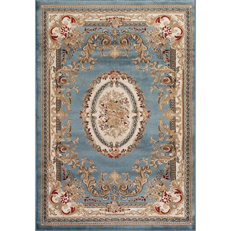 Oriental Dining Room Sets by Persian Rugs Traditional Blue Area Rug Amp Reviews Wayfair