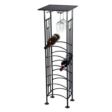 Metal Floor Standing Wine Racks furniture fantastic images of brown metal spiral