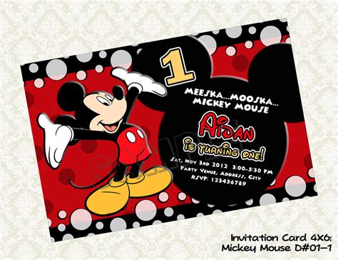 invitation layout mickey mouse mickey mouse party invitations theruntime com