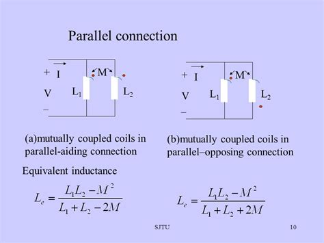 coupled inductors in parallel parallel opposing inductors 28 images magnetically coupled circuits ppt inductors in series