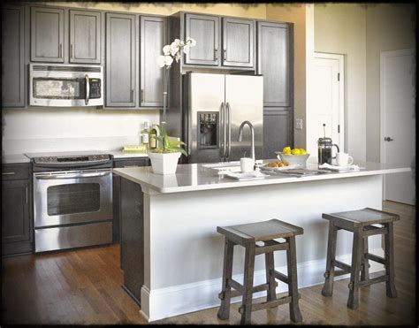 size of kitchen decorating small condo design
