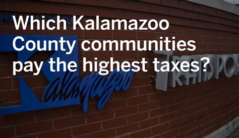 Kalamazoo County Property Records Which Kalamazoo County Communities Pay The Highest Property Taxes Mlive