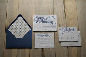 real wedding jami and timothy indianapolis letterpress wedding invitations