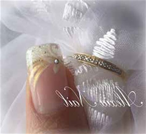 Modele Ongle Pour Mariage by Photo Ongle En Gel Mariage