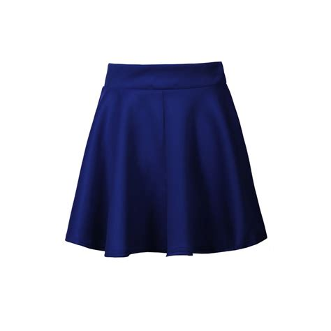 glamorous pixie and skater skirt royal blue