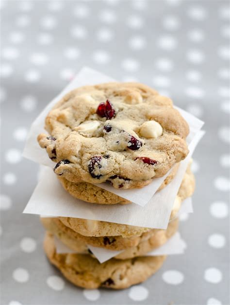 Link Brandied Cranberry White Chocolate Chip Cookies by Cranberry White Chocolate Chip Cookies Recipe Dishmaps