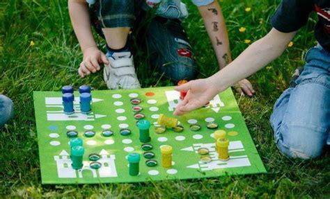 homemade games homemade games for kids diy ludo board game