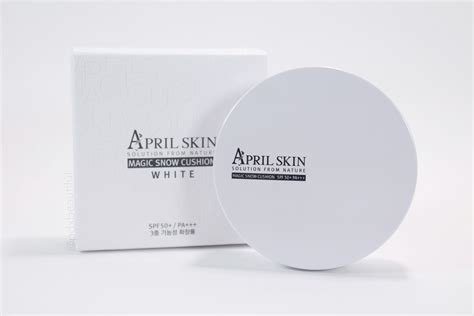 April Skin Magic Snow Cushion White Spf 50 Pa april skin magic snow cushion spf 50 pa pdxbeautiful
