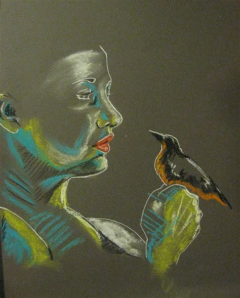 Drawing W Pastels by Soft Pastel Practice By W On Deviantart