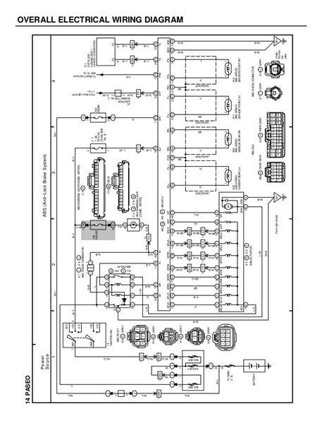 toyota paseo front suspension diagram wiring diagrams