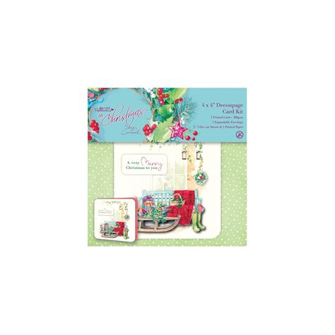 Decoupage Card Kits - 4 quot x 4 quot decoupage card kit at by cromwell