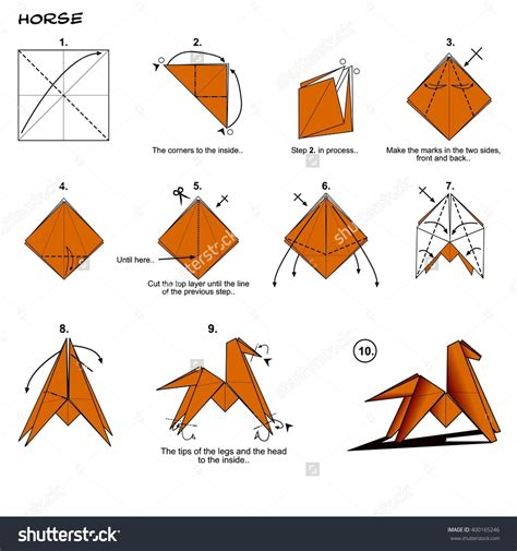 Step By Step How To Make Origami - origami easy interesting origami
