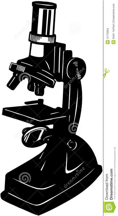 Microscope Cartoon Vector Clipart Stock Vector - Image