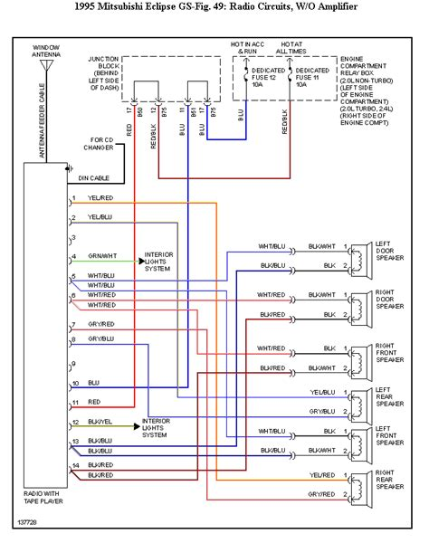 mitsubishi eclipse wiring diagram 1995 mitsubishi eclipse wiring diagram 38 wiring diagram
