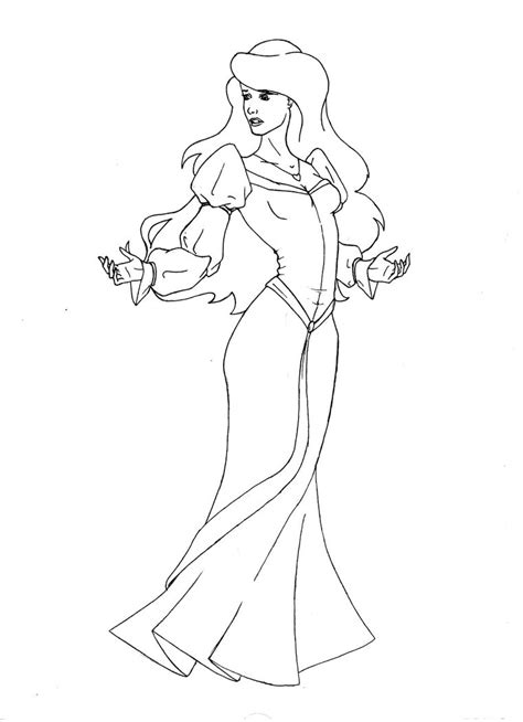 odette swan princess coloring pages az coloring pages