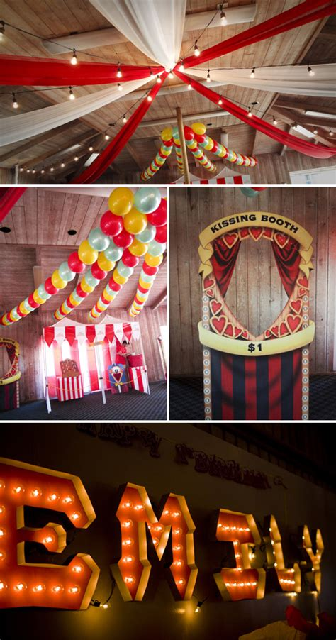 circus theme decorations emily s vintage circus themed birthday the