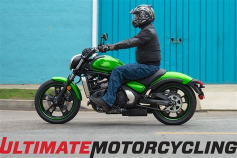 2015 Kawasaki Vulcan S ABS Review   Ergo Fit Enhanced