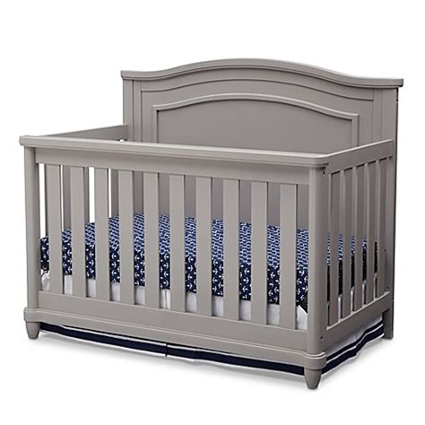 Simmons Convertible Crib Convertible Cribs Gt Simmons 174 Barrington 4 In 1 Convertible Crib In Grey From Buy Buy Baby