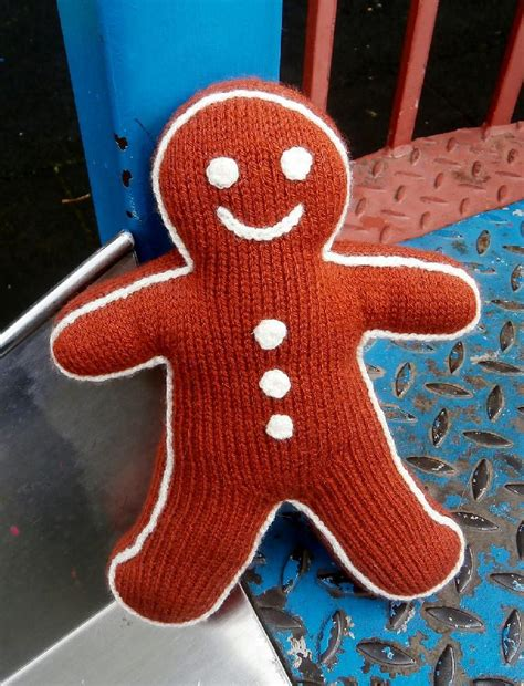 knitted gingerbread free pattern gingerbread knitting pattern by franklin
