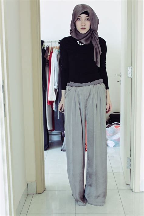 Kania Pallazo style hijabista style
