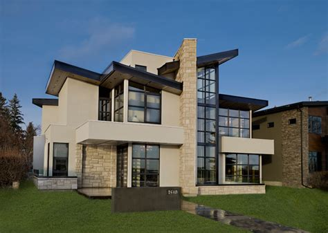 riverview custom homes showhome contemporary exterior