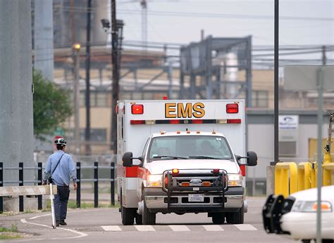 utmb 4 exxonmobil workers in critical condition