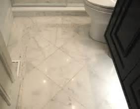 houzz bathroom floor tile sino carrara traditional tile toronto by cercan tile inc
