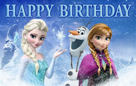 wallpaper frozen happy birthday frozen happy birthday pictures www imgkid com the