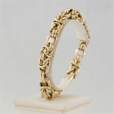 18 Carat Gold Bracelet From Organza by 18 Carat Gold Bracelet A Recent 18 Carat Yellow Gold