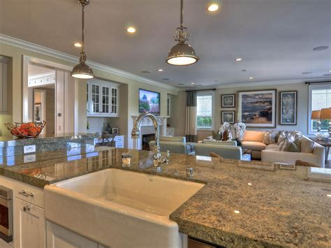 granite topped kitchen island a large granite topped kitchen island adds plenty of