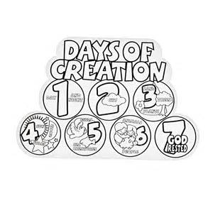 days of creation coloring pages creation coloring pages coloring home