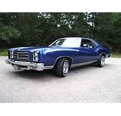 1976 Monte Carlo Chevy Pictures To Pin On Pinterest
