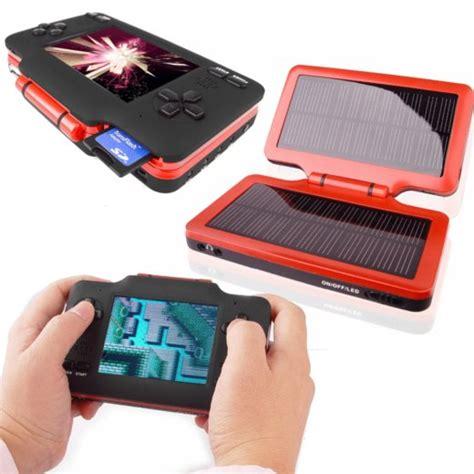 handheld emulator console handheld nintendo emulator goes solar technabob