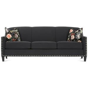 rockford upholstery supplies mn rowe rockford traditional settee with nailhead trim