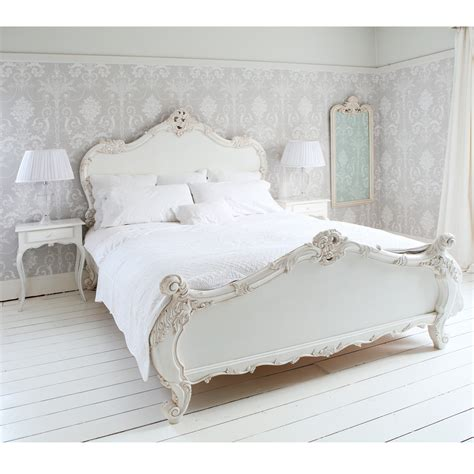 full size white headboard bedroom white wooden king size bed with headboard using