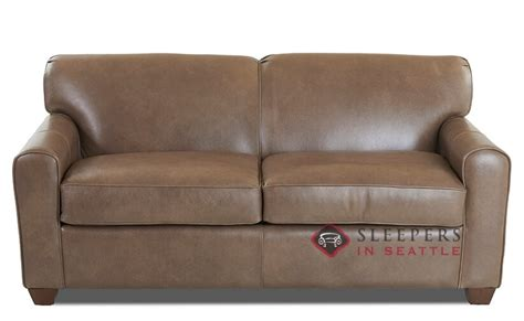 savvy sleeper sofas customize and personalize zurich full leather sofa by