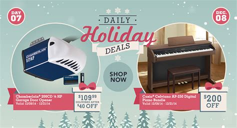 Costco Canada Daily Holiday Deals Save 40 Off Of The Costco Chamberlain Garage Door Opener