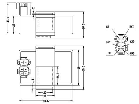 motorcycle cdi ignition wiring diagram motorcycle free