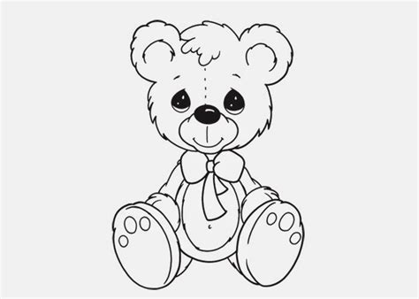 cute teddy bear coloring page 07 10 13 free coloring pages and coloring books for kids