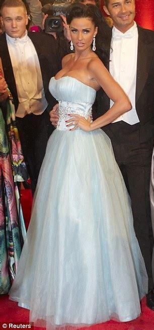 katie price belle ball disney esque gown attends vienna opera ball