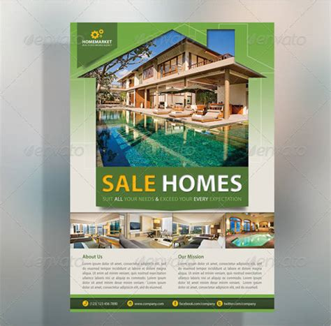 20 real estate flyer designs psd vector eps ai illustrator