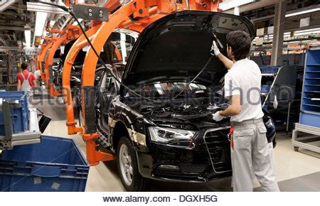 audi production line production line for the audi a4 sedan audi plant