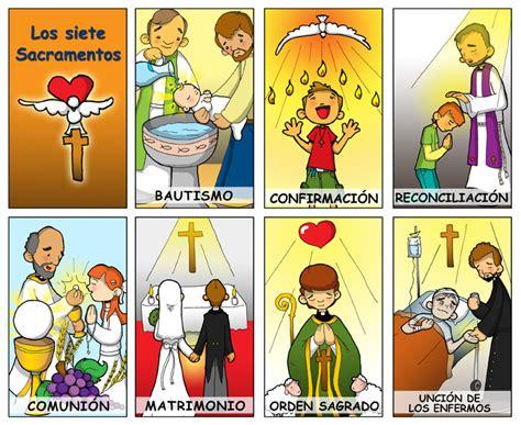 Sacramentos Animados | dibujos para catequesis los sacramentos