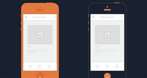 adobe illustrator iphone template 50 free wireframe templates for mobile web and ux design