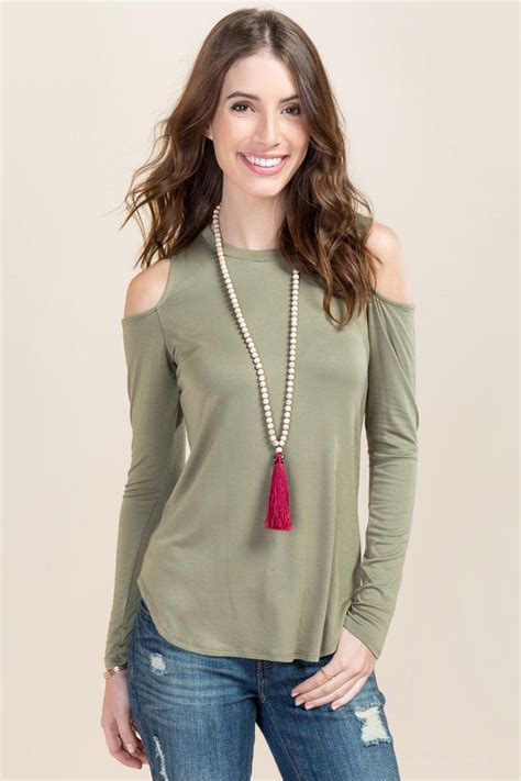 Marsha Top marsha cold shoulder scoop neck top s