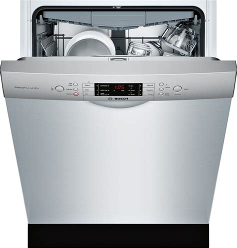 Bosch Third Rack Review by Sge68u55uc Bosch 800 24 Quot Dishwasher Water