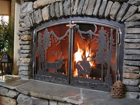 fireplace screens j dub s metalworks